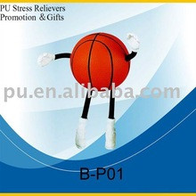 PU Basketball with hands and feet