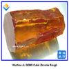 champagne cubic zirconia rough uncut gemstone