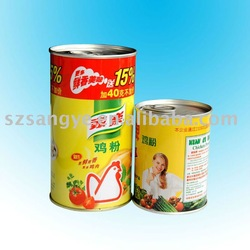 tin can for essence of chicken packaging