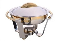 Oval roll top chafing dish/buffet chafer/steam food warmer