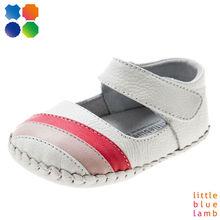 Bb-a3201-wh lblcomfortable suela de cuero suave zapatos de bebé