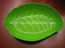 Fine Melamine leaf shape plate