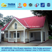 UN Supplier--Prefabricated Indonesia Villa hot sale in Africa