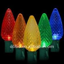 Holiday lighting C6 LED light bulbs Christmas Lights
