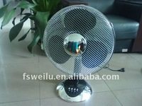 2016new model elegant design hot sell good quality Chorme Color 16 inch table fan FT-1602