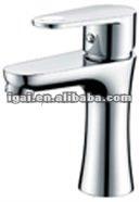 China brass bathroom wash hand basin hot cold water mixer tap K64011