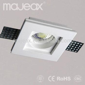 Interior Recessed ceiling Gypsum 12v led light fixtures