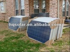 250w poly solar panel for solar roof system with MCS TUV CEC