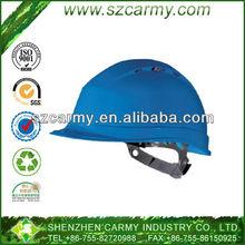 Plastic Anti-Crash Blue Mine Worker Use/Building Site Use Safety Protection Helmet