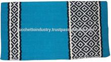 saddle blanket/cotton saddle blanket/navajo horse saddle blanket