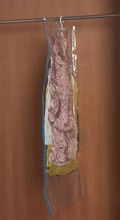 Vacuum Storage hanging wall pocket shrink vacuum bag
