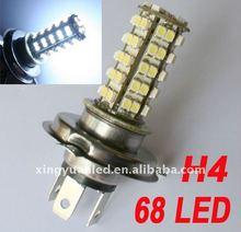 Car Vehicle H4 18 5050 SMD LED White Xenon Head Fog/Daytime Bulbs Lamp 12V New