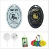 Plastic Cart Key Golf Bag Tags