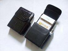 best-selling high-grade pu Leather cigarette case