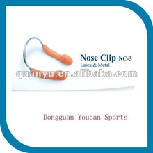High quality Stable durable Latex & Metal swimming Nose Clip
