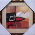 aparência perfeita e design melhor enquadrado abstrata tirando fotos de pinturas abstratas