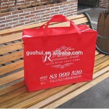 Eco cheaper zipper closed non woven bag