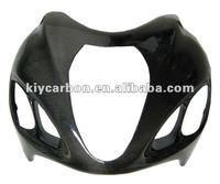 Carbon upper fairing for Suzuki Hayabusa