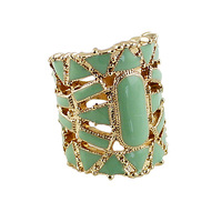 Fashion jewelry new coming hollow-out enamel vintagechampionship wedding ring