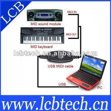 Good price USB MIDI link cable to pc