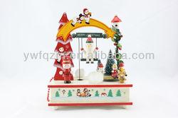 wooden christmas music box wholesale