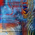 $ 22.73 tamaño 80 x 80 cm venta al por mayor del arte de la lona pintura al óleo abstracta
