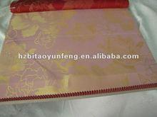 Nuevo diseño de poliéster tejido colchón de tiempo de la tela derechos de autor