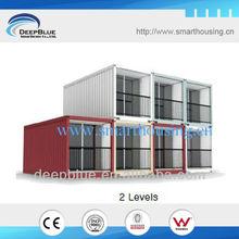 modern prefabricated container design motel