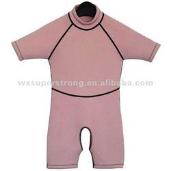2015 High Quality Pink Kids Neoprene Triathlon Wetsuits