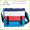 Stylish Latest Side Bags For Women Patchwork Color Block Canvas Latest Side Bags For Women