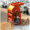 Not breaking corn cob corn thresher