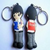 2013 low price fashion soft pvc key chain/3d pvc key chains promotional gift