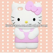 hello kitty 3D case for iphone 4s,solid phone case