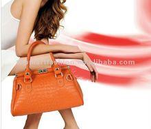 2012 fashion lady leather handbags