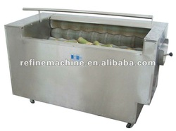 rhizome washing and peeling machine