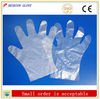 Cheap disposable PE gloves in 100% new material