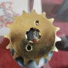 cheap motorcycle sprocket wheel with CNC lathe technic
