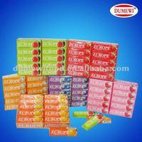 12.5g Halal Fruit Flavor 5 Sticks Chewing Gum