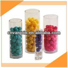 D12cm Cylinder Glass Vase