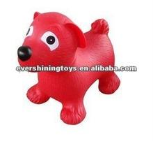 plastic jumping animal/inflatable ball/hopper animals