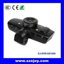 High Resolution HD car video camera recorder 1080p & Built-in G-sensor, GPS logger GS1000