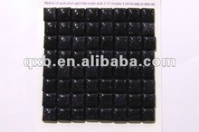 12mm blue goldsandstone square cabochon gems