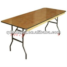 folding wooden dining table and chair