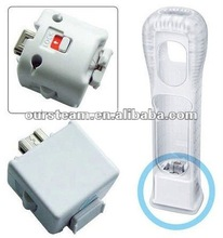 White MOTION PLUS FOR WII REMOTE CONTROLLER