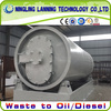 Best seller new generation new technology no pollution used plastic pyrolysis plant