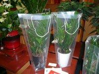 Handing Plastic bags/Plastic Flower sleeve Bags