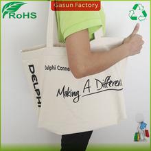Gasun made promotion 100% drawstring cotton bag/cotton canvas bag