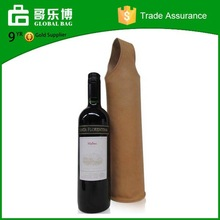 Custom Good Desigh Bottle Leather Wine Carrier