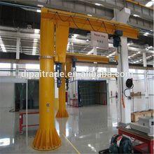 Stationary 0.3 discount slewing jib crane design in workshop