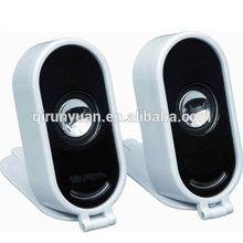 Techfly poweful multimedia 2.1 channel computer speaker subwoofer portable mini speaker gift